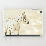 Horse In Winter iPad Case