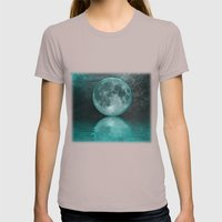 MOON FANTASY Womens Fitted Tee Cinder SMALL
