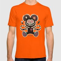 Freemouse (without Backg… Mens Fitted Tee Orange SMALL