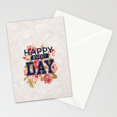Happy Every Day Stationery Cards
