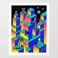 Utopia 6 Art Print
