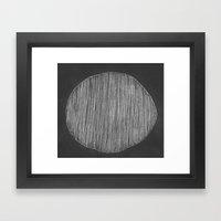 Chalk Framed Art Print