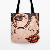 LE REGARD Tote Bag