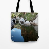Mirror Of Time Tote Bag