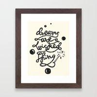 Dreams Pop! Framed Art Print