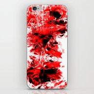 Liquid Red iPhone & iPod Skin
