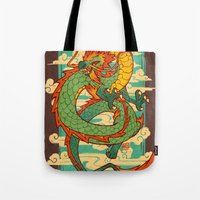 Serpent of the Wind Tote Bag