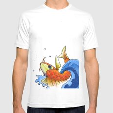 coy SMALL White Mens Fitted Tee