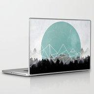 Woods Abstract 2 Laptop & iPad Skin