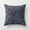 Stardust Geometric Art Print. Throw Pillow