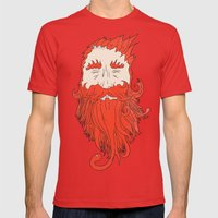 Beardsworthy Mens Fitted Tee Red SMALL