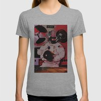 Sonic Explorer Womens Fitted Tee Athletic Grey SMALL