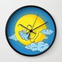 Cloud Candy Wall Clock
