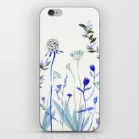 Blue Garden iPhone & iPod Skin