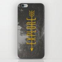 Explore (Arrow) iPhone & iPod Skin