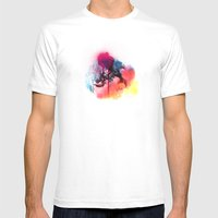 LINCE Mens Fitted Tee White SMALL