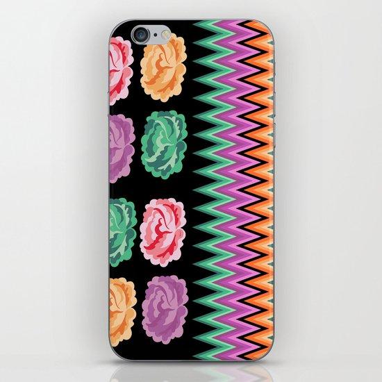 CHEVRON ROSES iPhone & iPod Skin
