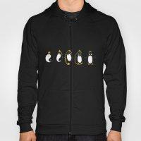 Yin Yang Penguin Hoody