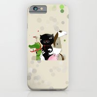 iPhone & iPod Case featuring United Animals by Kristina Sabaite