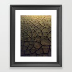 Some Fleshy Substance Framed Art Print