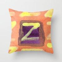 Tint of Orange Throw Pillow