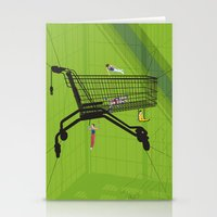 Trolley Gymnastics Stationery Cards