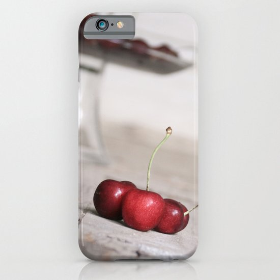 Three Lucky Cherries iPhone & iPod Case
