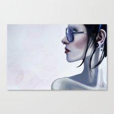 Eyewear Fashion Victim Canvas Print