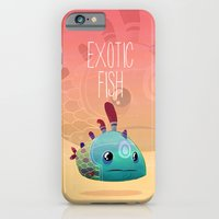 iPhone & iPod Case featuring Exotic Fish by Francesco Malin