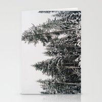 Snowy Paradise Stationery Cards