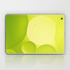 Green bubbles Laptop & iPad Skin