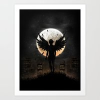 Lost In The World Of Hum… Art Print