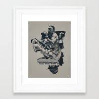 The Light That Failed Framed Art Print