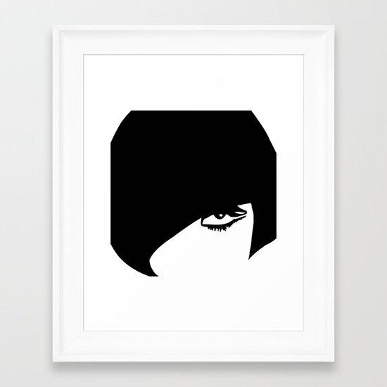 modcushion 5 Framed Art Print