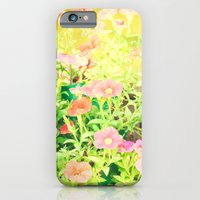 iPhone & iPod Case featuring Sunny Flowers by Bren