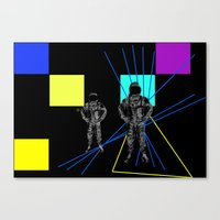 Monday duo Canvas Print