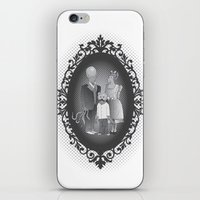 Framed family portrait iPhone & iPod Skin