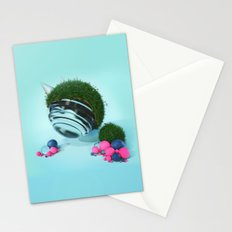 - Glass in Grass - Abstract Idea Stationery Cards