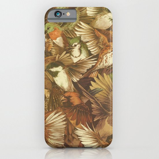 Red-Throated, Black-capped, Spotted, Barred iPhone & iPod Case