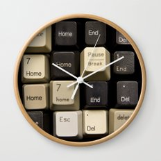 Custom Keyboard Wall Clock
