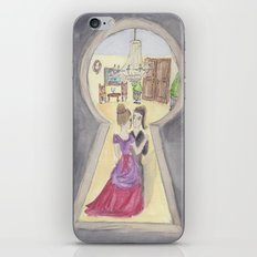 Keyhole iPhone & iPod Skin