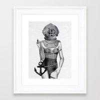 Sunken  Framed Art Print