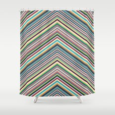 The lines between us. Shower Curtain
