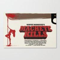 Machete Kills Canvas Print