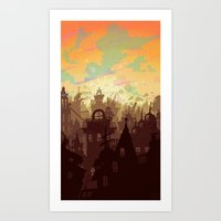 Waiting For The Day Art Print