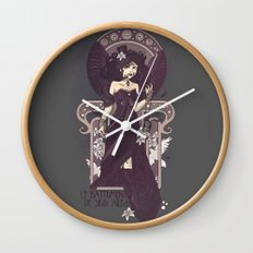 The Sound of Her Wings Wall Clock