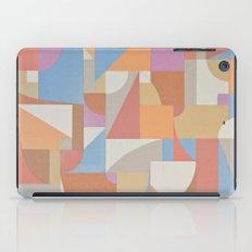 1 Inch Manila Grid iPad Case
