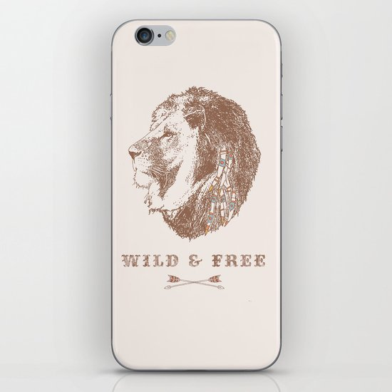 WILD & FREE iPhone & iPod Skin