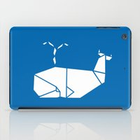 White Whale iPad Case