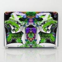 Sugar Skull Kisses iPad Case